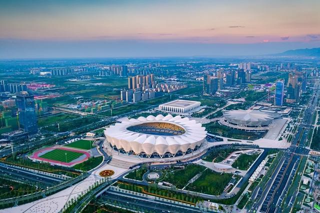 西安奥体中心体育场   全运会开幕式场馆