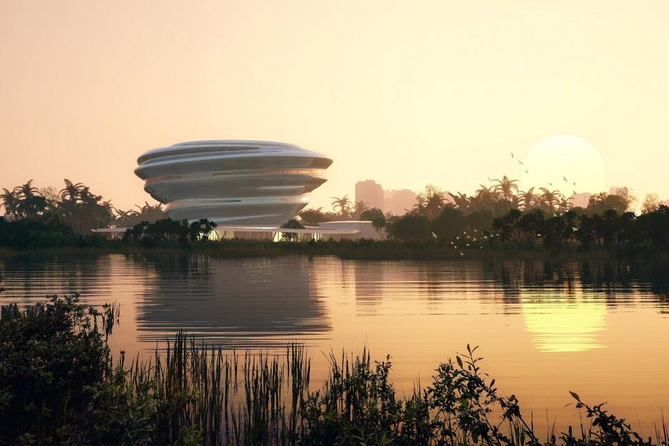 海南科技馆方案设计